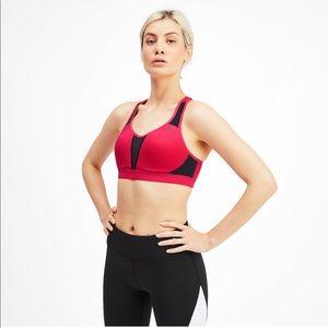 Puma get fast high impact sports bra pink 32-AB